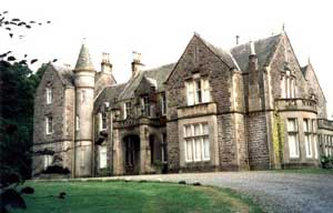 Photograph of Gilford Castle, the first ever venue for The Rare Oul' Times